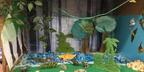 Rainforest model by Eissa Hydrangea